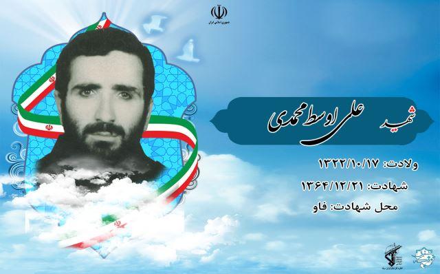 شهید علی اوسط محمدی لاریجانی