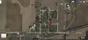 نقشه محدوده ثبت نشده ایرا در ایالت آیووا آمریکا
