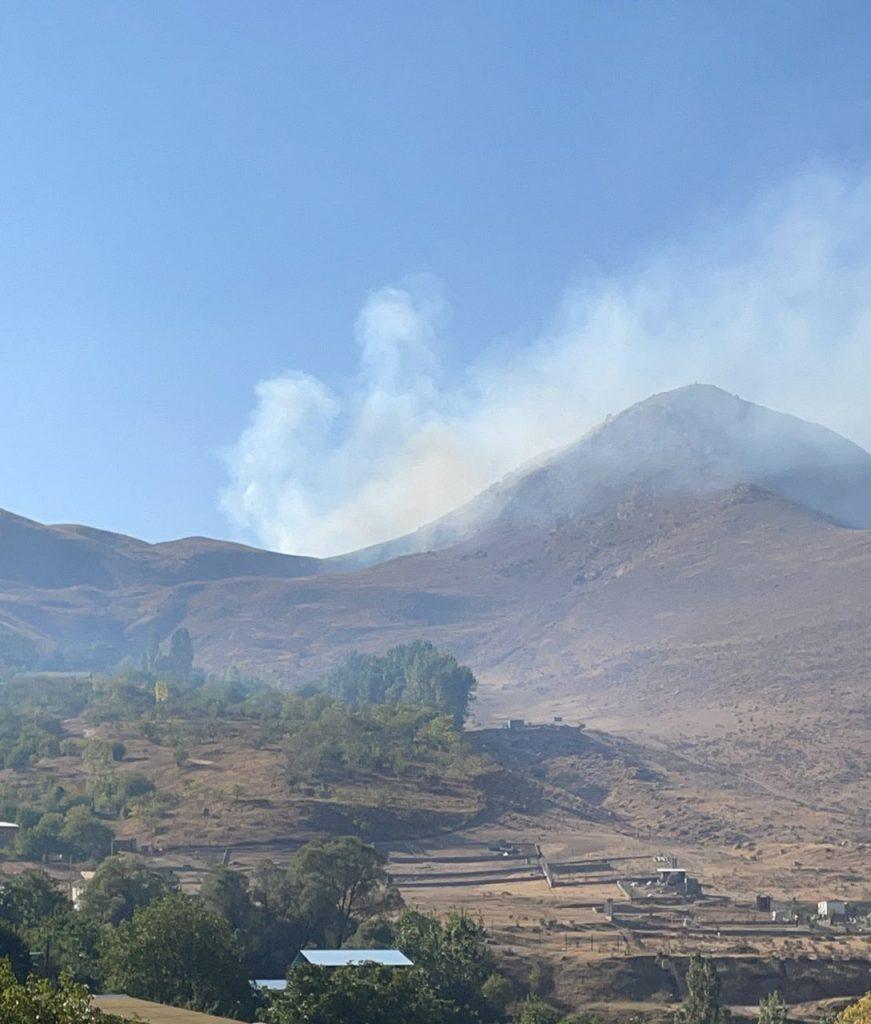 آتش سوزی مراتع ایرا